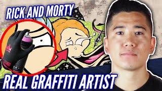 A Real Graffiti Artist Tags A Wall In Graffiti Simulator • Part 2