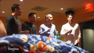 """""""Let It Snow"""" by 98 Degrees at Preshow Meet and Greet on 12/9/17"""