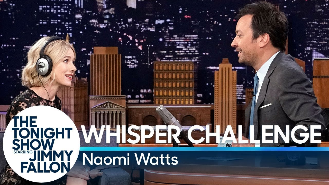 Whisper Challenge with Naomi Watts thumbnail