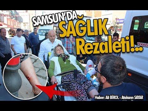 Samsun'da 'Sağlık' rezaleti