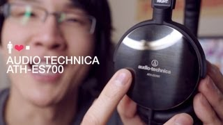 Audio Technica ATH-ES700 Portable Headphone Review: Stainless Steel Beauty
