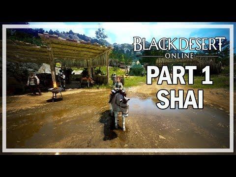 Black Desert Online - Shai Let's Play Part 1 - Beginning