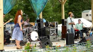"Joshua Davis Band ""Workingman's Hymn"" @ Hoxeyville 2012"