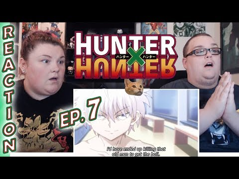 WHAT JUST HAPPENED!? Hunter x Hunter Episode 7 REACTION!! Showdown × On The × Airship