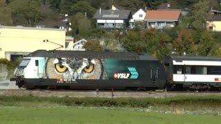 57 Sekunden Bassersdorfer Fotokurve im besten Fotolicht SBB Züge ZVV Eisenbahn Lok