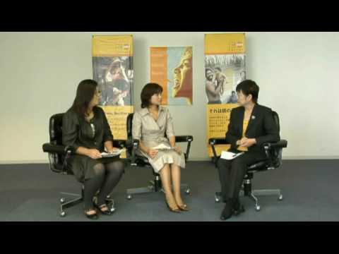 with ママ インタビュー @流山チャンネル 3/4