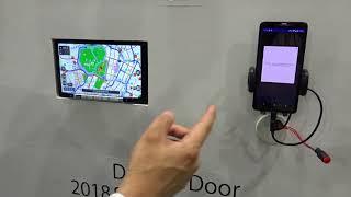 人とくるまのテクノロジー展 2018 「クラリオン」Door to Door ナビゲーション 展示会取材/マークラインズ