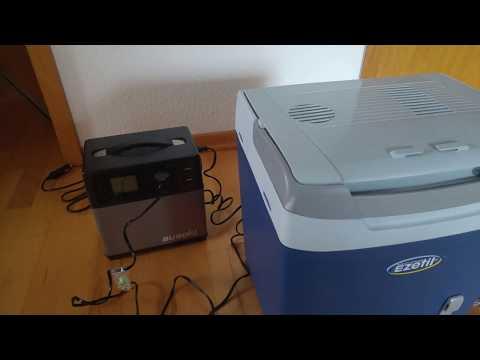 Suaoki 400Wh Solar Generator und Kühlbox EZetil E26M- 12v /230V vergleich und Test