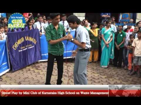 Mini Club of Karnataka High School in Action