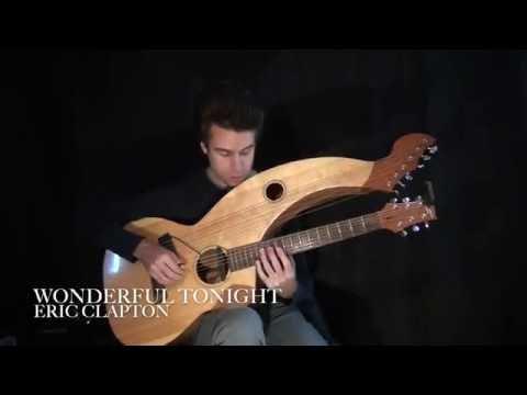 , title : 'Wonderful Tonight - Eric Clapton - Harp Guitar Cover - Jamie Dupuis'