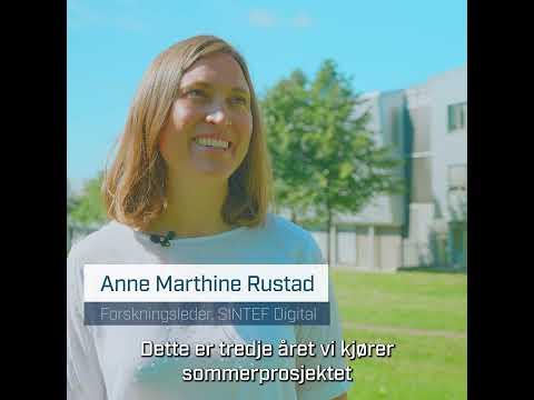Sommerstudent-programmet i SINTEF 2021. Video: Magnus Biringvad/SINTEF.