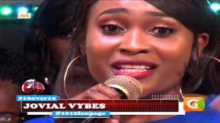 10 OVER 10 | Jovial performing live on stage
