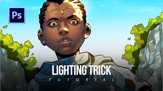 How To Nail Your Lighting EVERYTIME In Digital Art