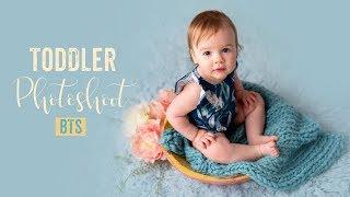 Studio Toddler PHOTOSHOOT - Photographing Children BEHIND THE SCENES