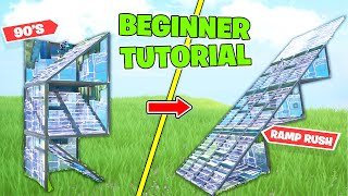 How To Learn The Basics 10x FASTER For BEGINNER Keyboard and Mouse Players | Fortnite Battle Royale