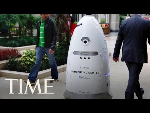 Security Robot Drowns In D.C. Fountain: Was It Stressed Out Or Just Take A Wrong Turn? | TIME