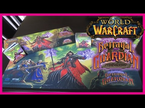 WoW TCG – Betrayal of the Guardian Epic Collection [UNBOXING][ASMR]