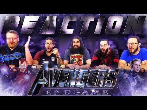 Marvel Studios' Avengers: Endgame - Official Trailer REACTION!! (видео)