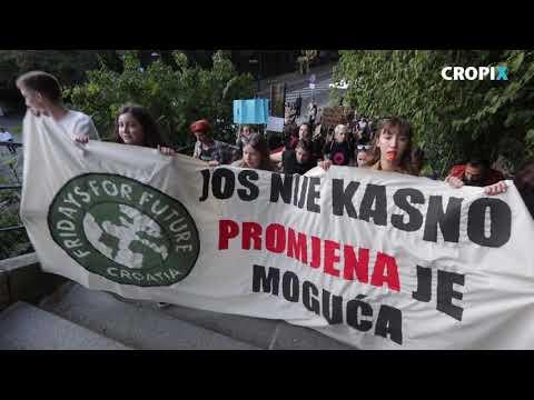 Globalni prosvjed za klimu u Zagrebu