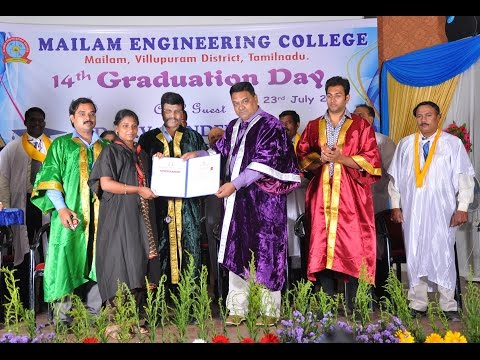Mailam Engineering College video cover3