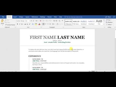 Where to Put Training and Certificates on Your Resume - YouTube