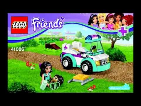 Lego 41086 Vet Ambulance Instructions Lego Friends 2015
