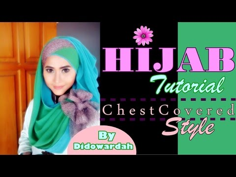 Video Tutorial Hijab Pesta Pashmina Menutup Dada by Didowardah #52
