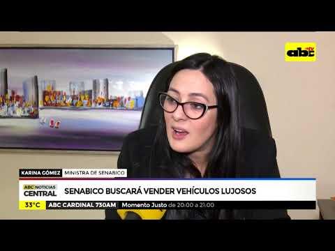Senabico buscará vender vehículos incautados