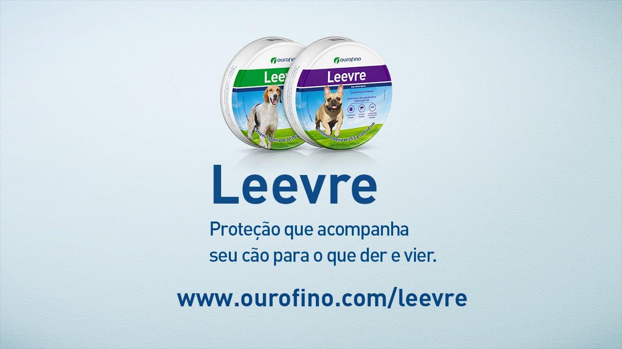 Coleira Leevre - www.ourofino.com/leevre