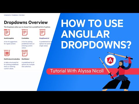 Learn How to Build Modern Angular Dropdowns in Minutes with Kendo UI