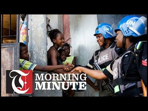 UN ends peacekeeping mission in Haiti as protests continue