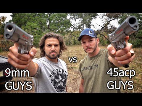 9mm Guys vs 45acp Guys