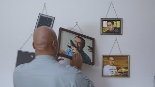 Saying Goodbye: Man Finally Turns All 50 Pictures Of Jared Fogle In His House Toward The Wall
