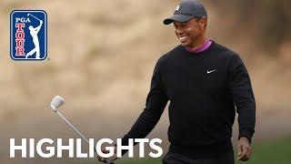 Tiger Woods shoots 6-under 66   Round 2   ZOZO CHAMPIONSHIP 2020