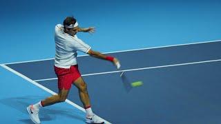 【男子テニス】Swissindoors 2019 ロジャー・フェデラー選手の技術【スイス情報.com】