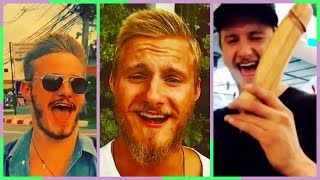 Alexander Ludwig Funny Moments (BJORN From Vikings)