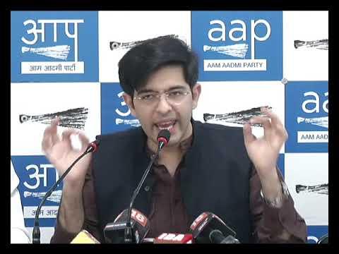 AAP South Delhi LS Incharge Raghav Chadha & MLA Sahi Ram Exposed BJP Sponsored Voters Deletion Fraud