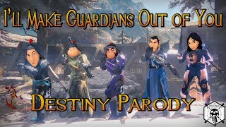 """I'll Make Guardians Out of You - Destiny Parody (from Disney's """"Mulan"""")"""