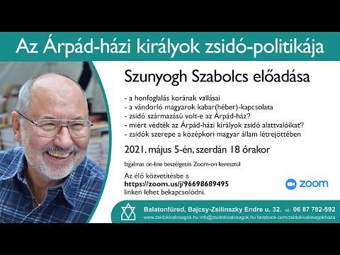 🎥Az Árpád-házi királyok zsidó-politikájáról tartott izgalmas és érdekes előadást Szunyogh Szabolcs. …