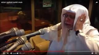 Adzan Subuh Makkah.