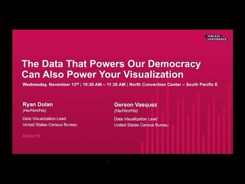 U.S. Census Bureau: The Data That Powers Our Democracy, Can Also Power Your Visualization