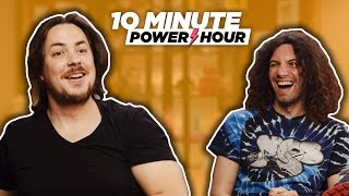 Making TIE DYE! - 10 Minute Power Hour