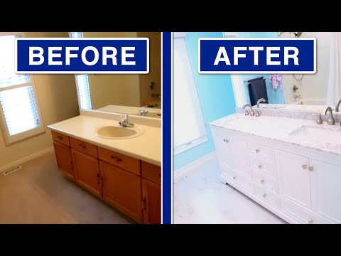 HUGE Bathroom Renovation! (Dream Home Reno Ep. 10)