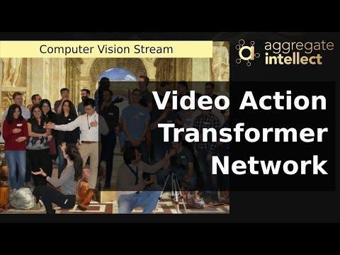 Video Action Transformer Network