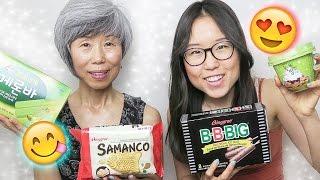 KOREAN ICE CREAM HAUL with Mommy Oh