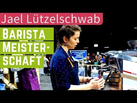 Baristameisterschaft - Präsentation von Jael Lützelschwab - 3. Platz Schweiz