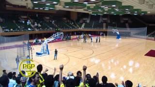 فرحة لاعبين السلة مع الجمهور والرابطة ورقصة المحترف تحميل MP3