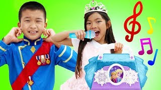 Emma Pretend Play at the Princess Pageant Fun Adventure