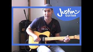 Molly's Chamber - Kings Of Leon (Songs Guitar Lesson BS-807) How to play