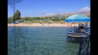 """Пляж центра отдыха """"Карвен Иссык-Куль"""""""